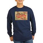 Flat Oregon Long Sleeve Dark T-Shirt