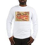 Flat Oregon Long Sleeve T-Shirt