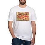 Flat Oregon Fitted T-Shirt