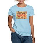 Flat Oregon Women's Light T-Shirt