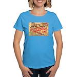 Flat Oregon Women's Dark T-Shirt