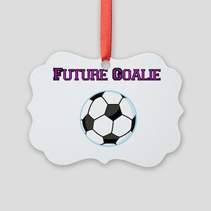 Future Goalie Picture Ornament