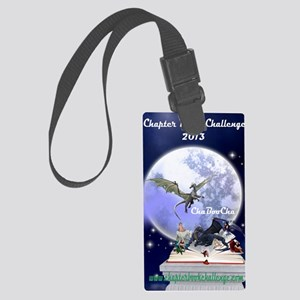 Chapter Book Challenge 2013 Large Luggage Tag