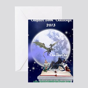 Chapter Book Challenge 2013 Greeting Card