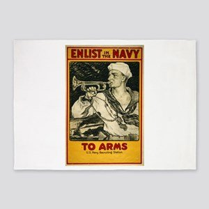 Enlist in the Navy To arms - Milton Herbert Bancro
