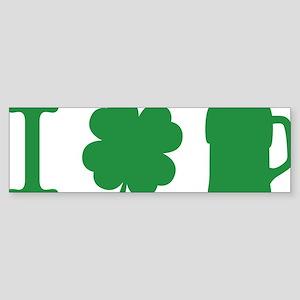 irishCityPint1A Sticker (Bumper)