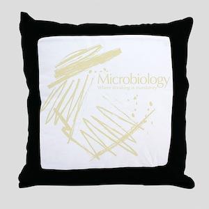 Microbiology Throw Pillow