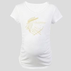 Microbiology Maternity T-Shirt