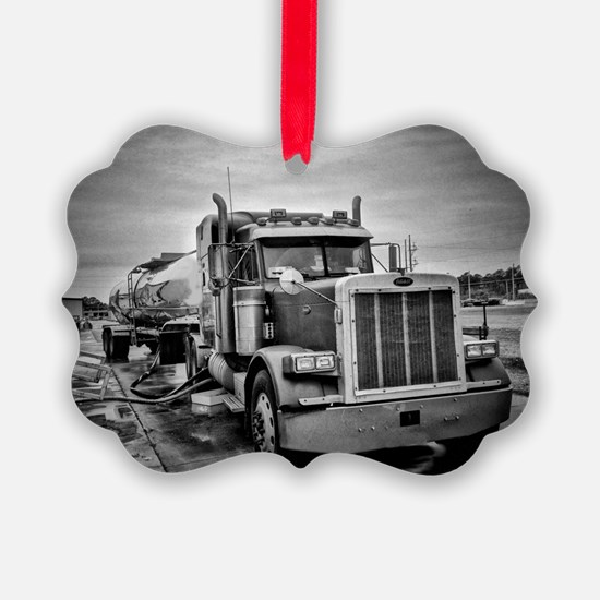 Big Red On The Job Ornament
