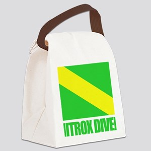 Nitrox Diver Canvas Lunch Bag