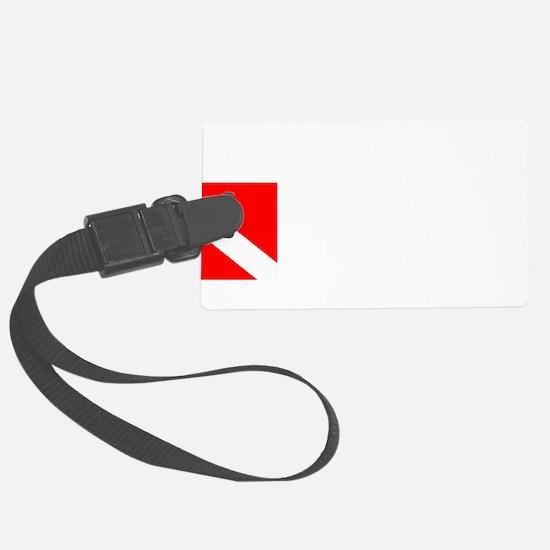 Rescue Diver 3 (white) Luggage Tag