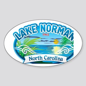 Lake Norman Waterview  Sticker (Oval)
