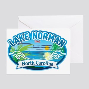 Lake Norman Waterview  Greeting Card