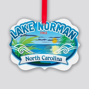 Lake Norman Waterview  Picture Ornament