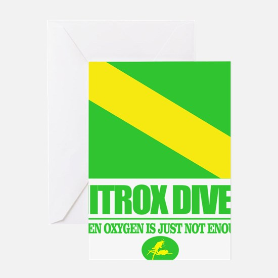 Nitrox Diver Greeting Card