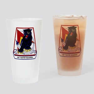 494th FS Panthers Drinking Glass