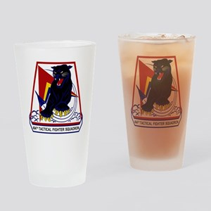 494th TFS Panthers Drinking Glass