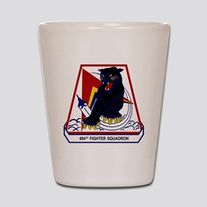 494th FS Panthers Shot Glass
