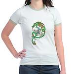 Green Dragon Women's Mint Ringer T-Shirt
