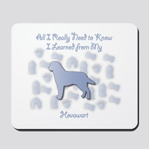 Learned Hovawart Mousepad