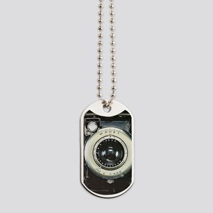 Retro camera Dog Tags