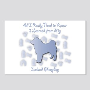 Learned Sheepdog Postcards (Package of 8)