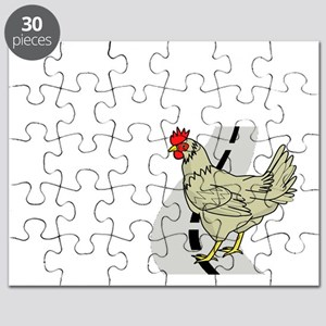 Chicken Crossing The Road Puzzle