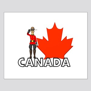 Canadian Mountie Small Poster