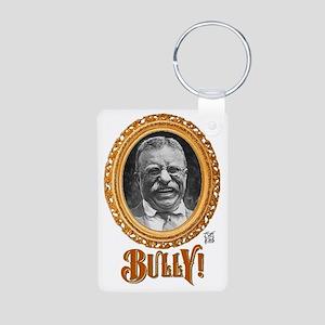 BULLY! Aluminum Photo Keychain
