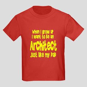 WIGU Architect Dad Kids Dark T-Shirt