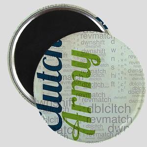 Clutch army word art Magnet