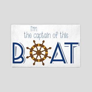 I'm The Captain 3'x5' Area Rug