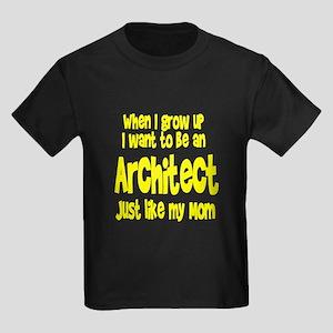 WIGU Architect Mom Kids Dark T-Shirt