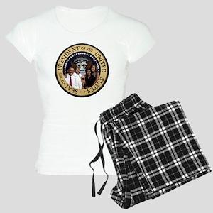 Obama First Family T SHirt Women's Light Pajamas