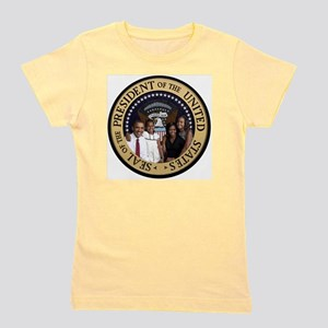 Obama First Family T SHirt Girl's Tee