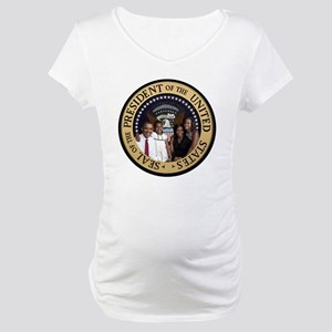 Obama First Family T SHirt Maternity T-Shirt