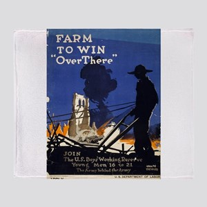Farm To Win Over There - Adolph Treidler - 1917 -