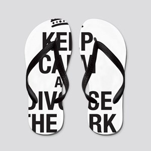 Keep calm and divorce the Jerk Flip Flops