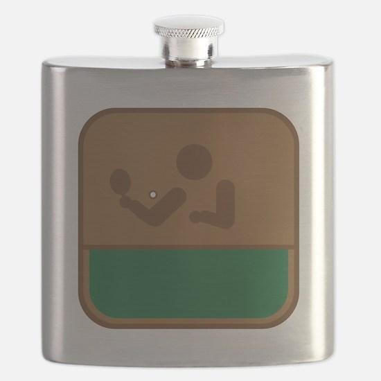 Tischtennis Flask