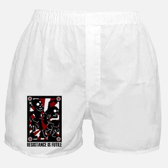 Zombie Horde - Resistance is Futile Boxer Shorts