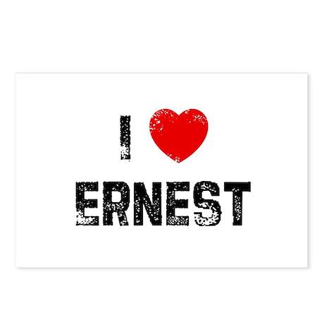 I * Ernest Postcards (Package of 8)