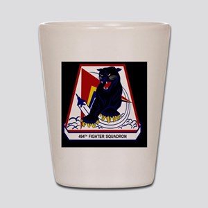494th FS Shot Glass