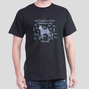 Learned Bullmastiff Dark T-Shirt