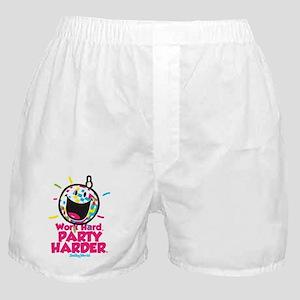 Party Hard Smiley Boxer Shorts