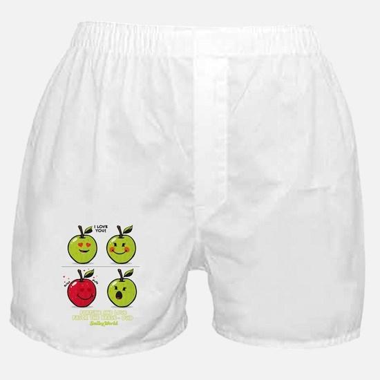 Apple Smiley Boxer Shorts
