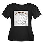 Ah...Retirement (golf ball) Women's Plus Size Scoo