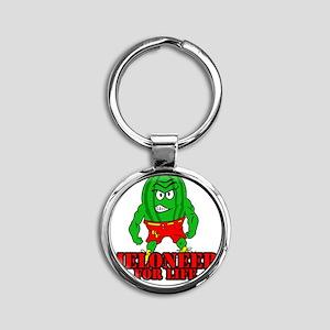 Meloneer 4 Life - Mascot Round Keychain