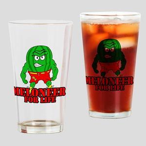 Meloneer 4 Life - Mascot Drinking Glass