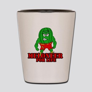 Meloneer 4 Life - Mascot Shot Glass