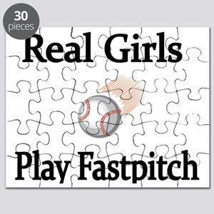 Real Girls Play Fastpitch Puzzle